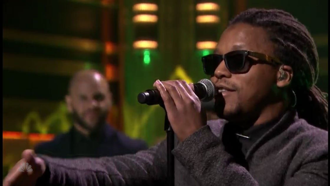 "image for article ""Little Death"" - Lupe Fiasco ft Nikki Jean & The Roots on The Tonight Show with Jimmy Fallon Feb 25, 2015 [Official Video + Lyrics]"