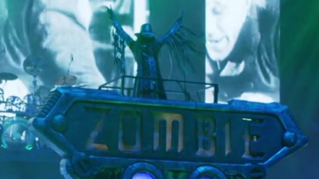 "image for article ""Ging Gang Gong De Do Gong De Laga Raga"" - Rob Zombie [NSFW Live Video]"
