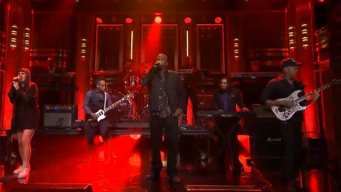 "image for article ""The Mexican"" - GZA & Tom Morello ft The Roots on The Tonight Show Starring Jimmy Fallon Mar 3, 2015 [Official Video]"