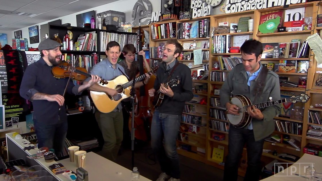 image for article Punch Brothers NPR Tiny Desk Concert Feb 20, 2015 [YouTube Official Video]