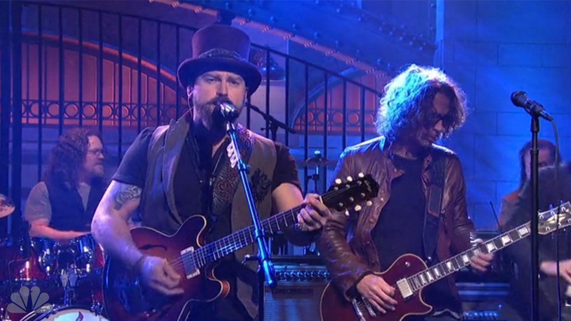 "image for article ""Homegrown"" & ""Heavy Is The Head"" - Zac Brown Band ft Chris Cornell Live on SNL Mar 7, 2015 [YouTube Official Videos + Lyrics]"