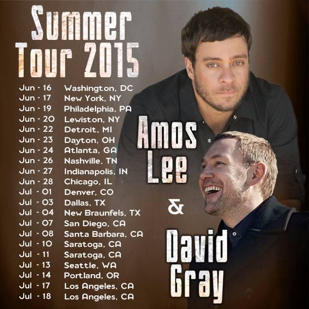 David Gray Us Tour Dates