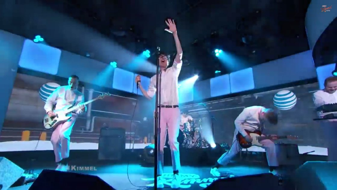 "image for article ""Somebody New"" & ""Tongues"" - Joywave on Jimmy Kimmel Live Mar 2, 2015 [YouTube Official Videos]"