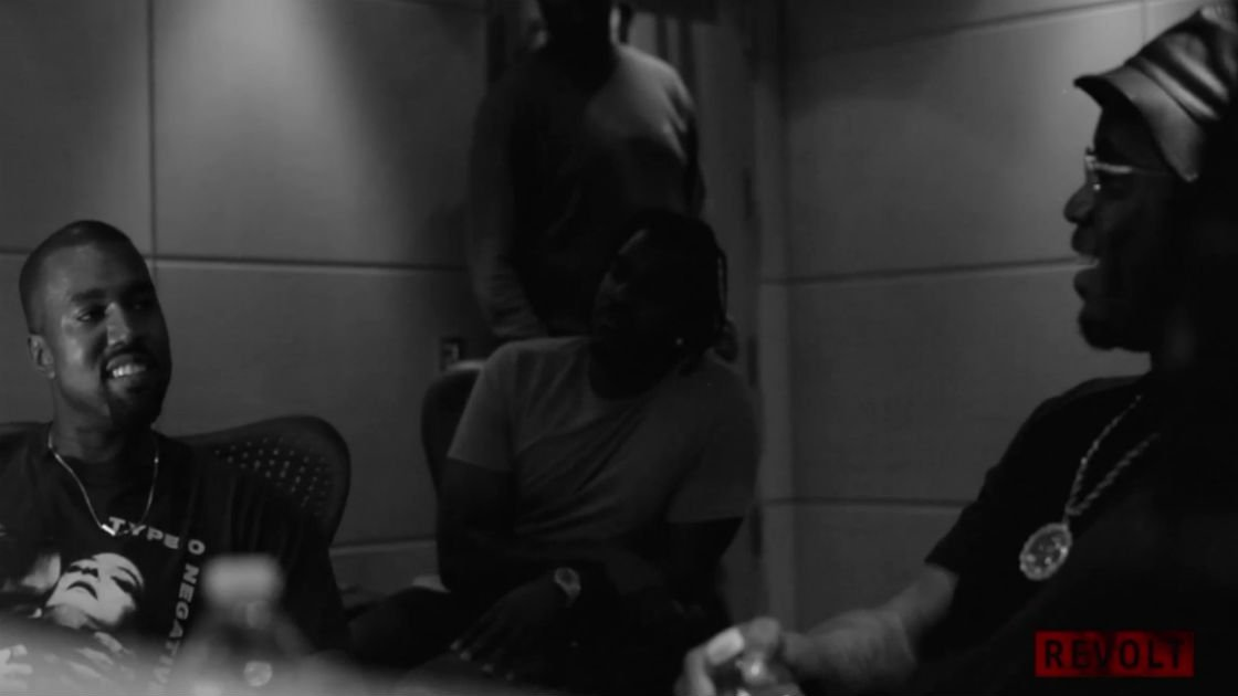 "image for article Kanye West & P. Diddy In The Studio For ""All Day"" Session [Revolt.TV Official Video]"