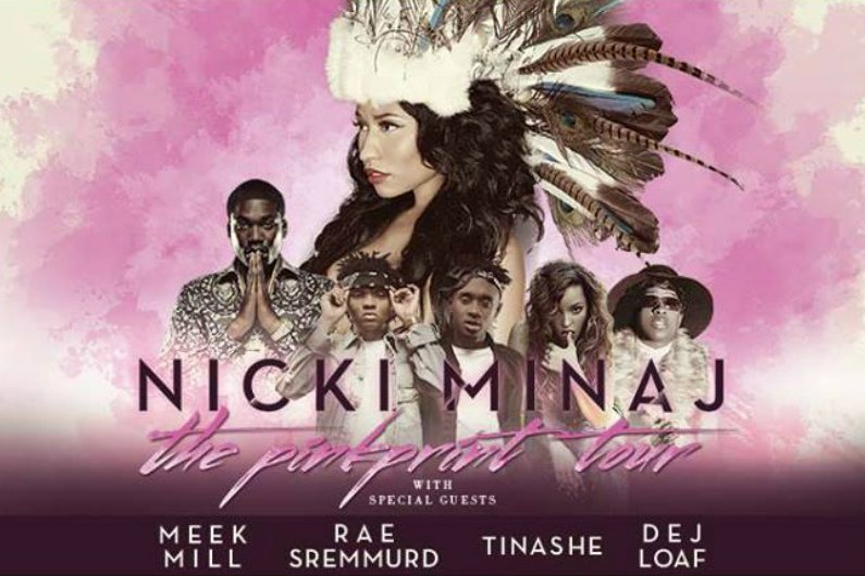 "image for article Nicki Minaj Announces ""Pinkprint"" North American 2015 Tour Dates and Ticket Presale Code Details"