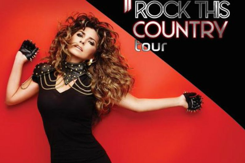 "image for article Shania Twain ""Rock This Country"" 2015 Tour Dates & Presale Information Announced with Gavin DeGraw & Wes Mack"