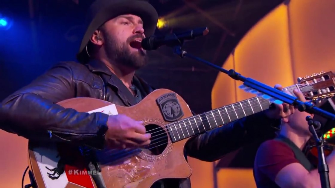"image for article ""Homegrown"" & ""Dress Blues"" - Zac Brown Band on Jimmy Kimmel Live Mar 23, 2015 [YouTube Official Videos]"