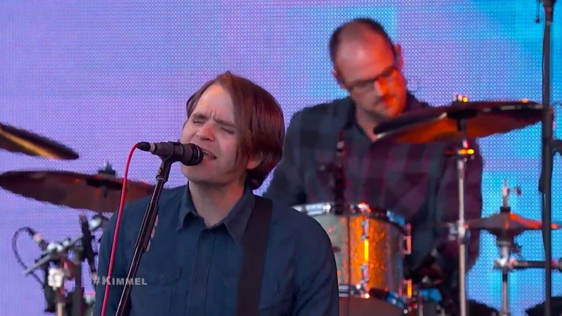 "image for article ""Black Sun"" & ""No Room In Frame"" - Death Cab For Cutie on Jimmy Kimmel Live April 1, 2015 [YouTube Official Videos]"