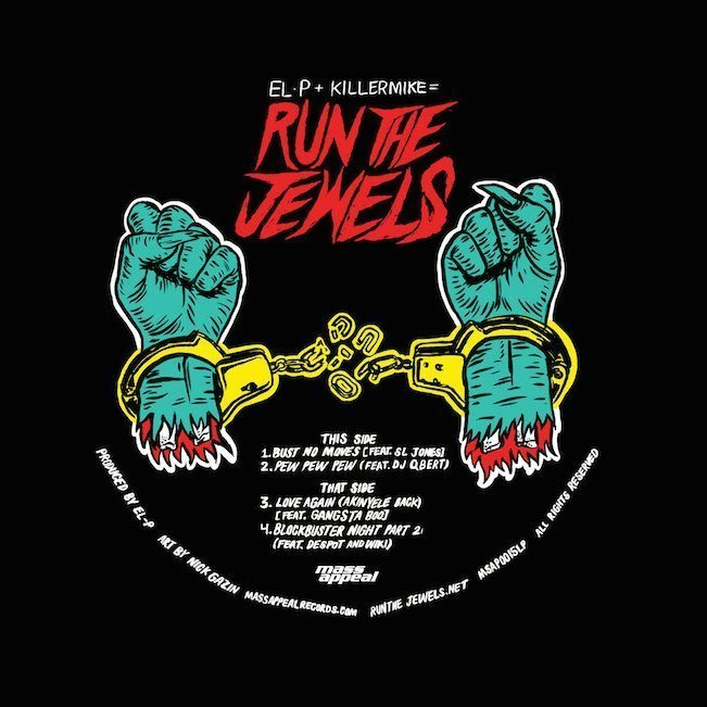 "image for article ""Bust No Moves"" - Run The Jewels ft SL Jones (Record Store Day 12"" single) [YouTube Official Audio Stream]"