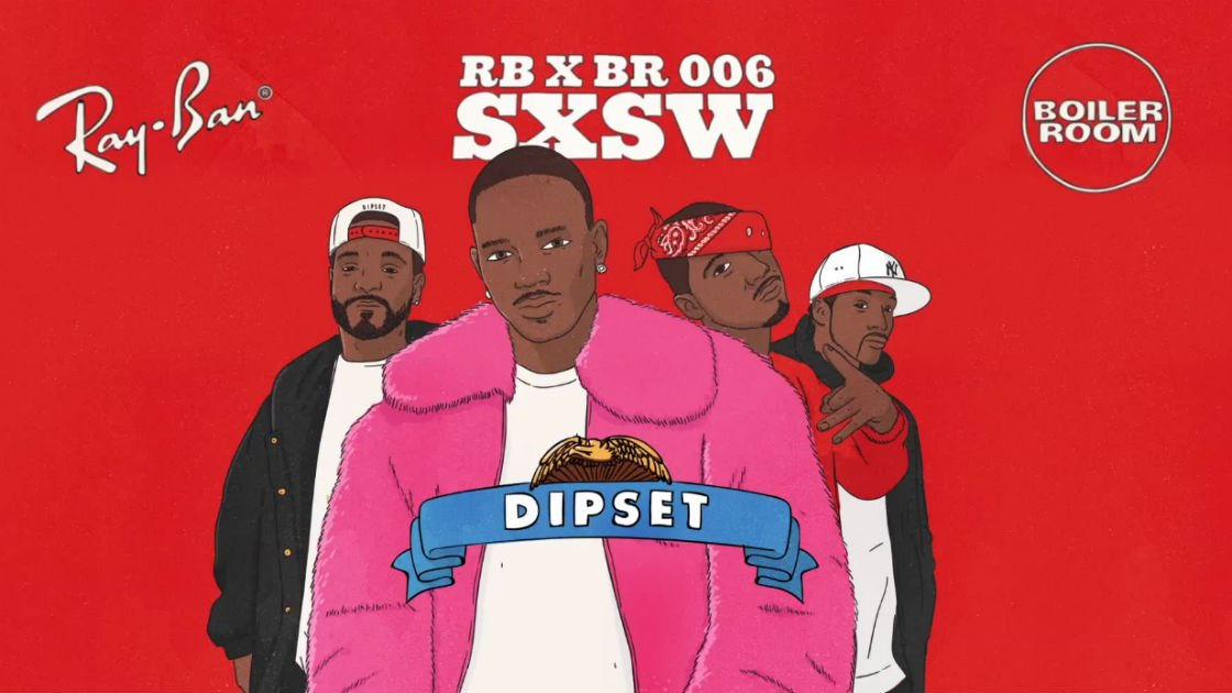 image for article Dipset Perform Old Hits at Ray-Ban x Boiler Room 006 SXSW Showcase in Austin, TX on Mar 18, 2015 [Full Concert Video]
