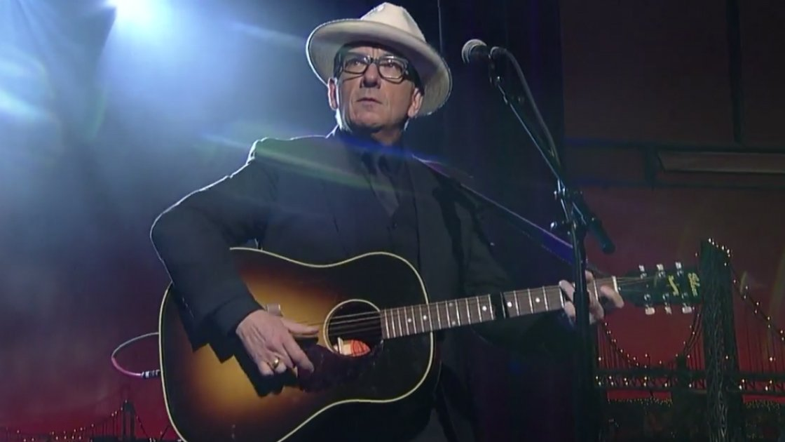 "image for article ""When I Write the Book"" and ""Everyday I Write the Book"" - Elvis Costello on Letterman April 23, 2015 [YouTube Official Video]"