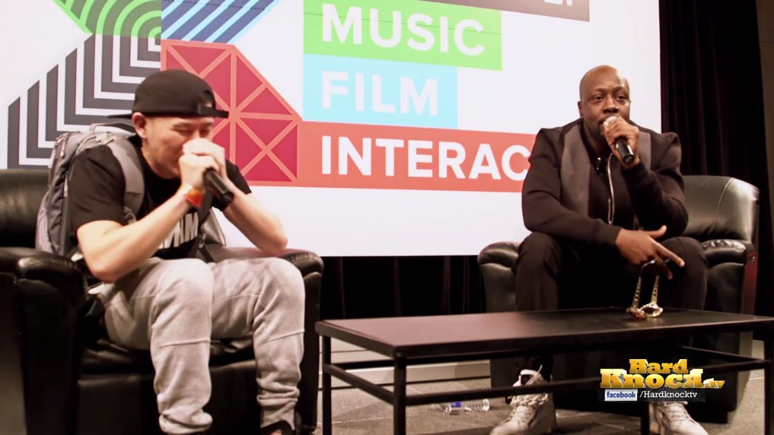 image for article Wyclef Freestyles With MC Jin at SXSW Music Conference in Austin, TX 2015 [YouTube Video]