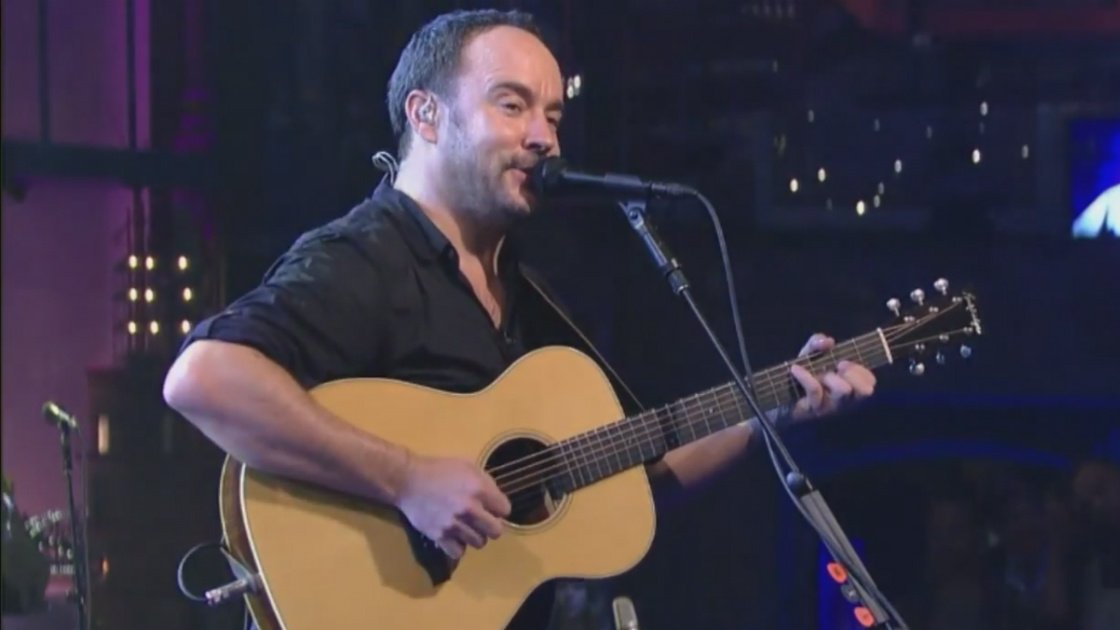 "image for article ""Black and Bluebird""' - Dave Matthews Band Legends on Letterman Performance May 7, 2015 [YouTube Live Video]"