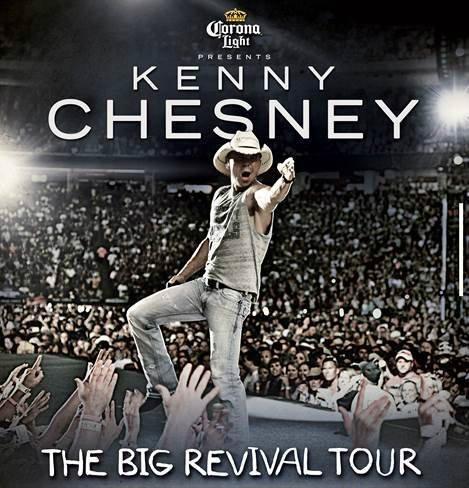 Kenny chesney 2015 tour dates