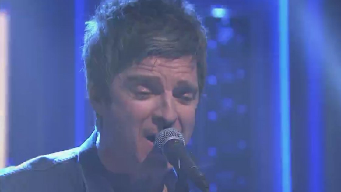 "image for article ""Lock All the Doors"" - Noel Gallagher's High Flying Birds on The Tonight Show Starring Jimmy Fallon May 6, 2015 [Official NBC Video]"