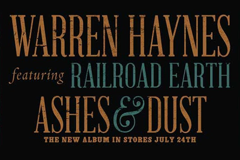 "image for article Warren Haynes & Railroad Earth Announce ""Ashes & Dust"" 2015 Tour & Album: Pre-Sale Ticket Info"