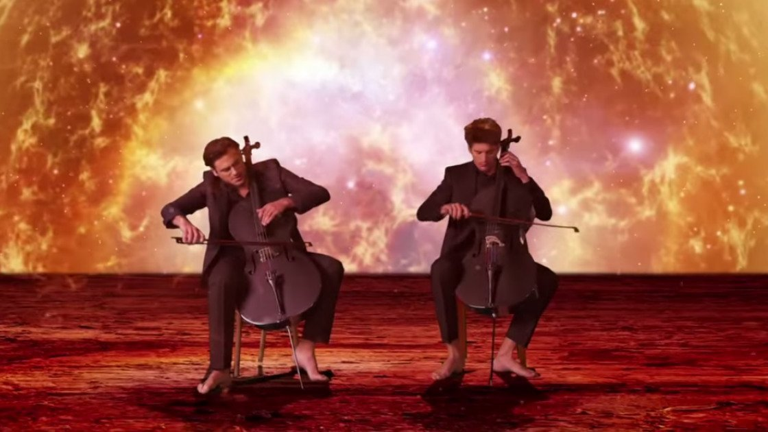 "image for article ""Celloverse"" - 2CELLOS [YouTube Official Music Video]"