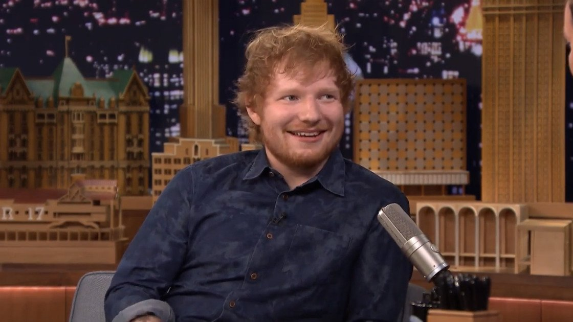 image for article Ed Sheeran Interview & Performances on The Tonight Show Starring Jimmy Fallon June 1, 2015 [YouTube & NBC Official Videos]