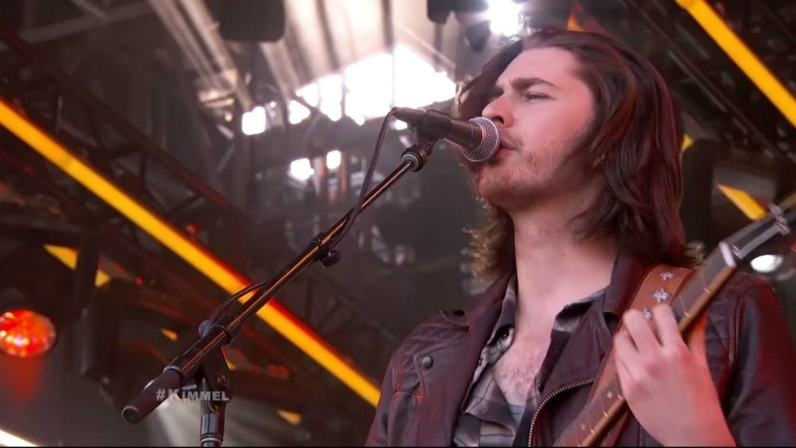 "image for article ""Someone New"" & ""Work Song"" - Hozier on Jimmy Kimmel Live on June 1, 2015 [YouTube Official Video]"