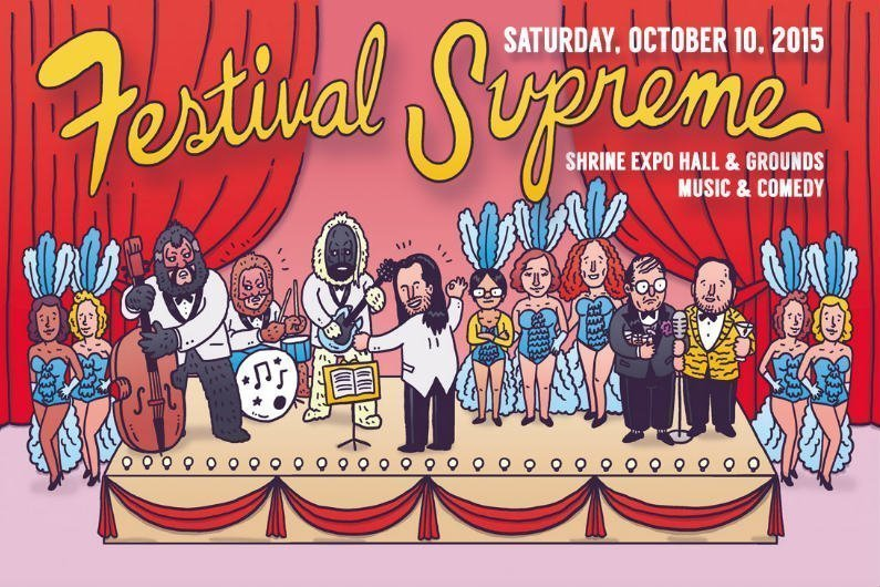 image for article Tenacious D Announces 2015 Festival Supreme Lineup; Tickets On Sale This Week
