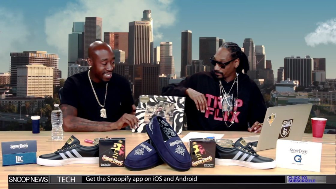 image for article Freddie Gibbs Talks Music, Family, and Blaxploitation Films During His GGN Interview with Snoop Dogg [YouTube Official Video]