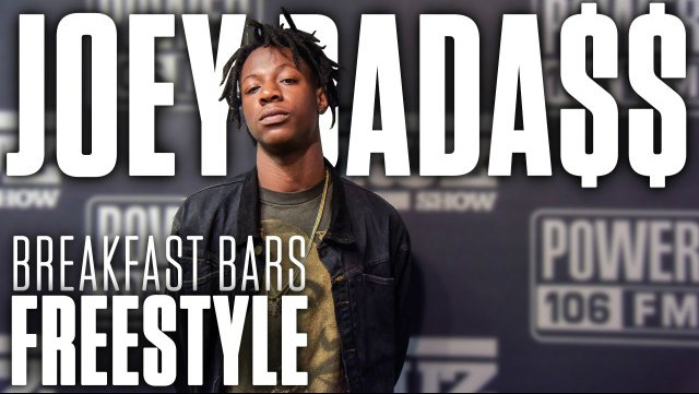 "image for article ""Breakfast Bars"" - Joey Bada$$ x 2Pac Freestyle & Interview on The Cruz Show June 16, 2015  [YouTube Official Video]"