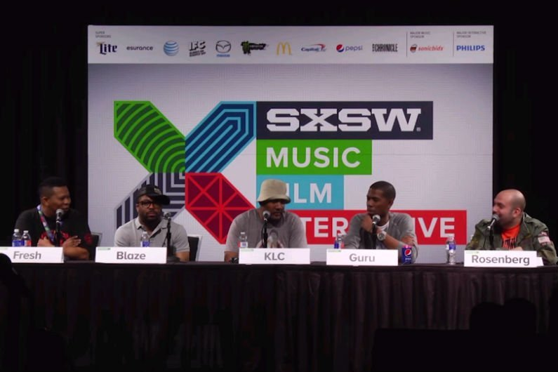 "image for article Mannie Fresh, Just Blaze, KLC, & Young Guru Discuss ""Building the Beat"" at SXSW 2015 [YouTube Video]"