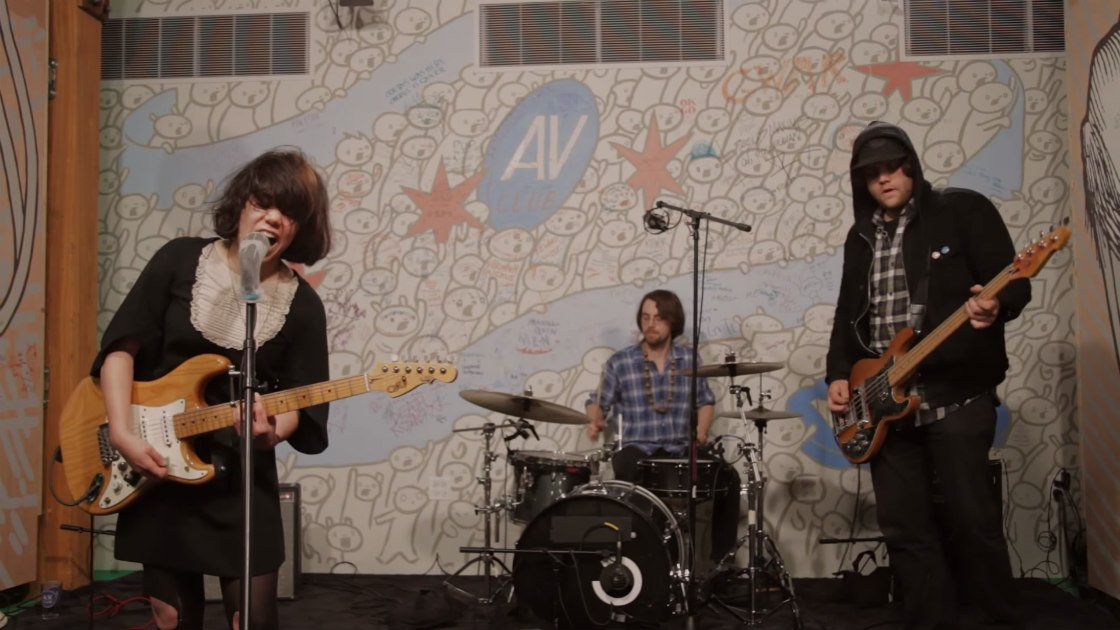 "image for article ""Shake It Off"" - Screaming Females (Taylor Swift Cover) [YouTube AV Club Undercover Video]"