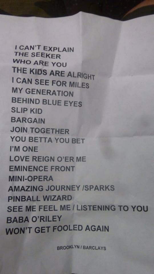 the-who-barclays-center-2015-setlist