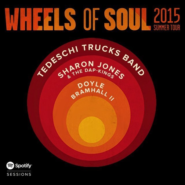 "image for article ""Wheels of Soul"" Spotify Sessions - Tedeschi Trucks Band with Sharon Jones, The Dap-Kings, and Doyle Bramhall [Official Album Stream]"