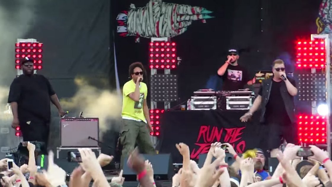image for article Run The Jewels Rock Pitchfork Festival 2015 with Zack de la Rocha & Gangsta Boo [YouTube Official Videos]