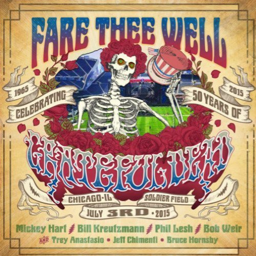 "image for article Grateful Dead's ""Fare Thee Well"" Concerts in Chicago, July 2015 [Free Audio Stream & MP3 / FLAC Download]"