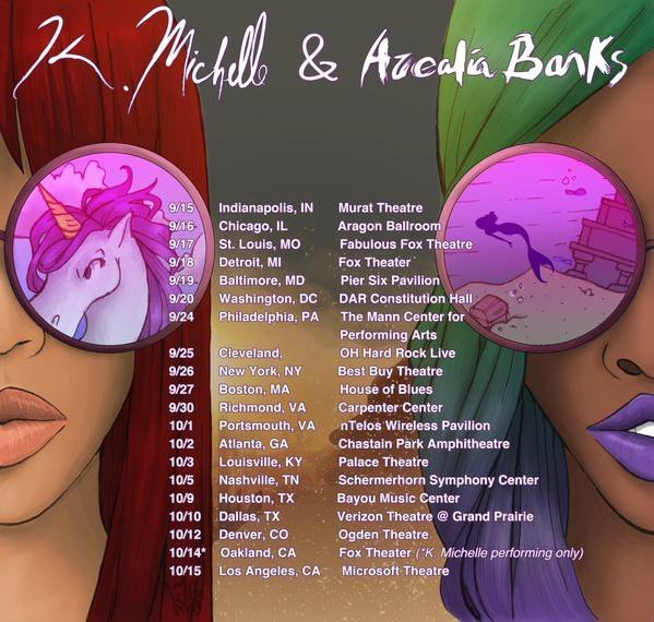 image for article K. Michelle and Azealia Banks Line Up 2015 Tour Dates