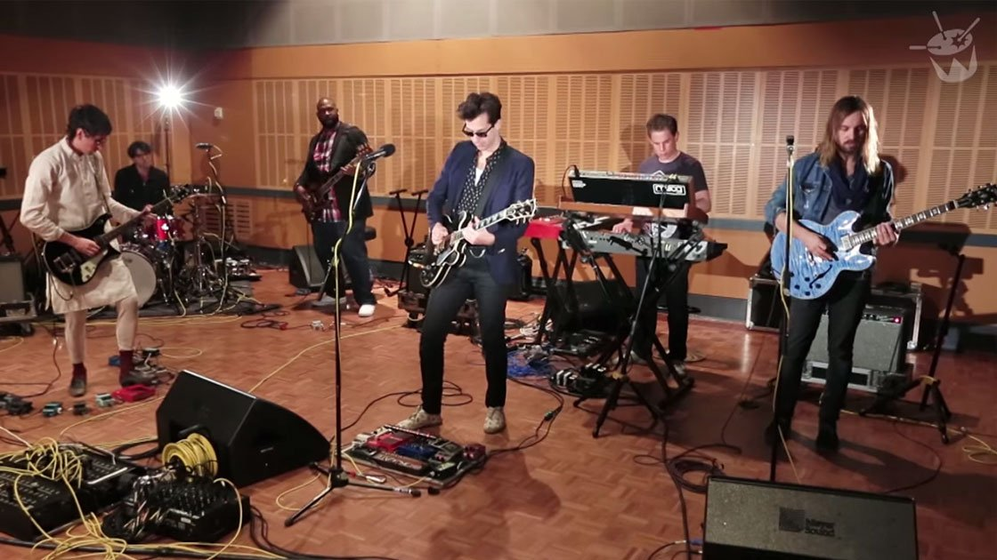 Mark Ronson & Kevin Parker BLOW MINDS on Triple J Radio in