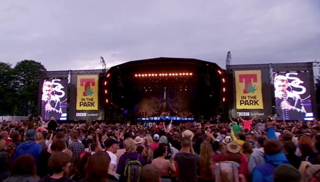 "image for article ""Lay Me Down"" – Sam Smith at T in the Park 2015 [BBC YouTube Official Video]"