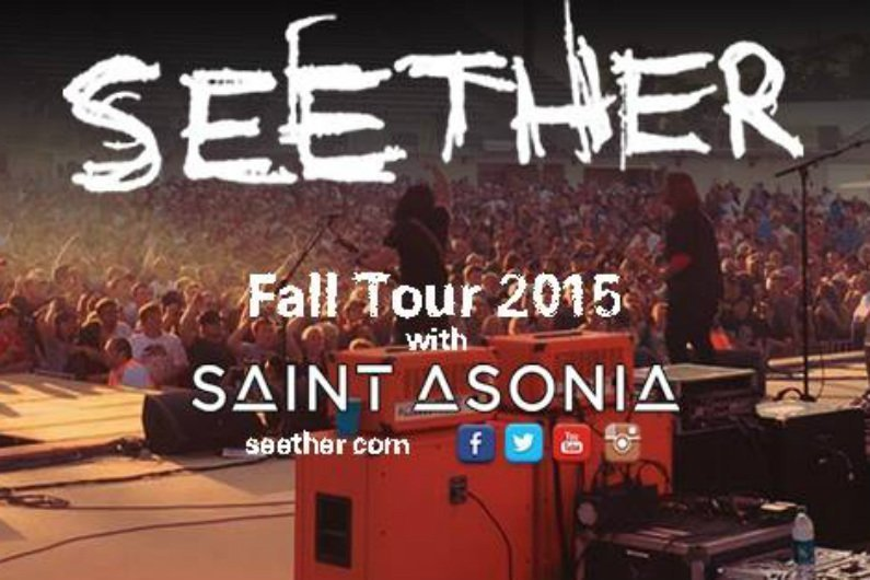 image for article Seether Shares 2015 Fall Headlining Tour Dates: Ticket Presale Codes & Info