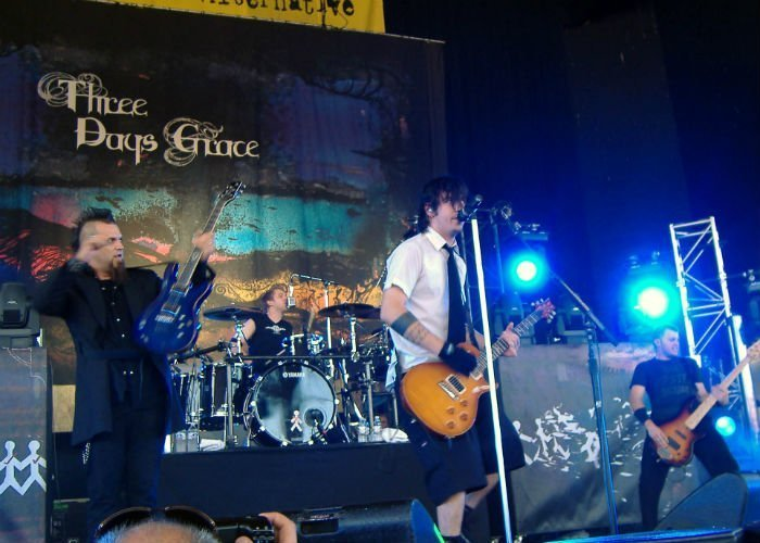 image for artist Three Days Grace