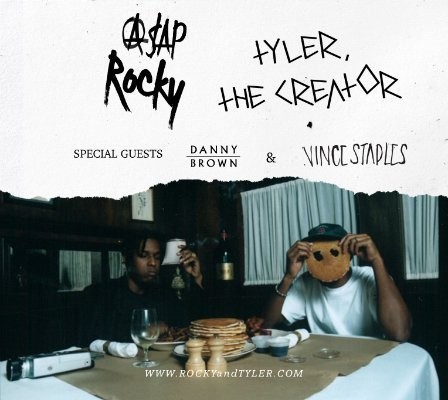 image for article A$AP Rocky and Tyler, The Creator team up with Danny Brown and Vince Staples for 2015 Fall Tour: Presale Offer Codes & Ticket Info