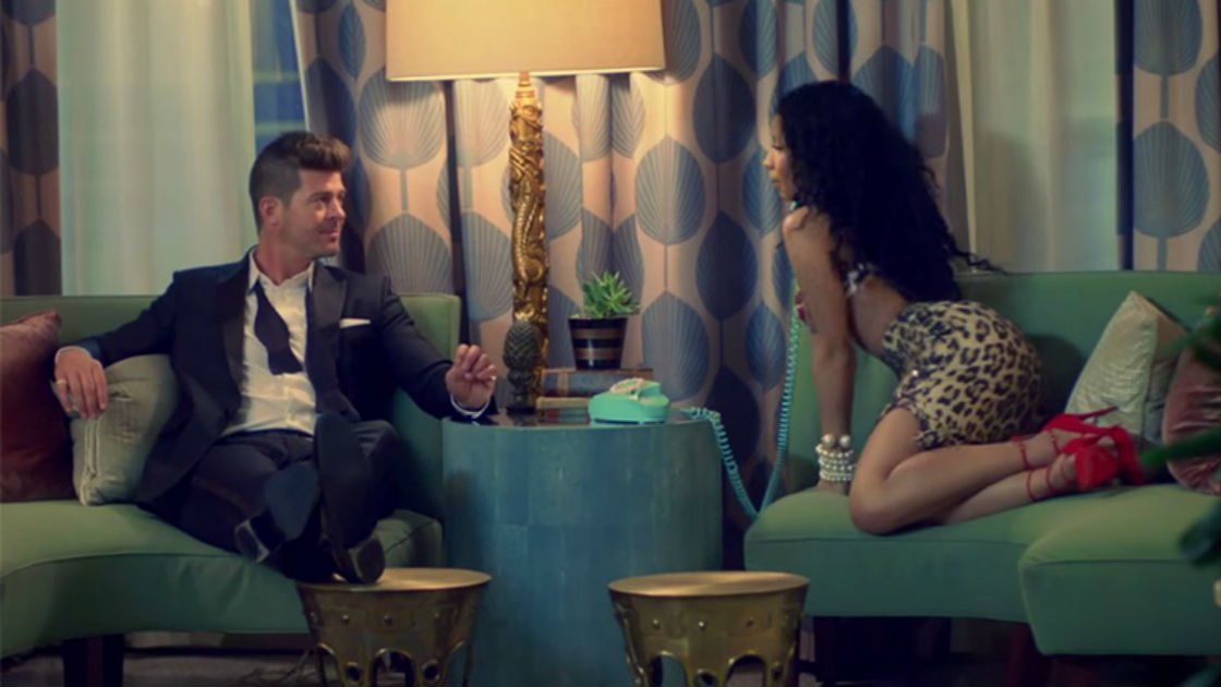 "image for article ""Back Together"" - Robin Thicke ft Nicki Minaj [YouTube Official Music Video]"