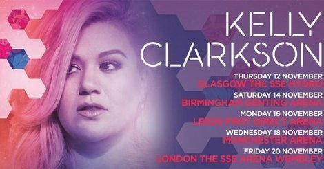 image for article Kelly Clarkson Adds British 2015 Tour Dates for November; Ticket Presales Happening Now