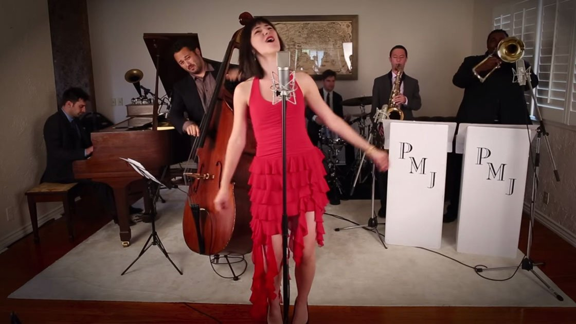 "image for article ""This Must Be The Place (Naive Melody)"" - Postmodern Jukebox ft Sara Niemietz (Talking Heads Cover) [YouTube Video]"