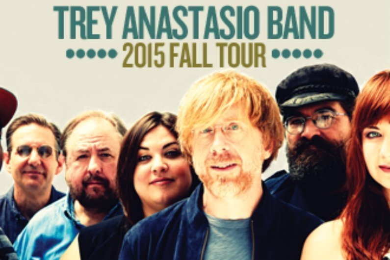 image for article Trey Anastasio Band Share 2015 Fall Tour Dates: Ticket Presale Info