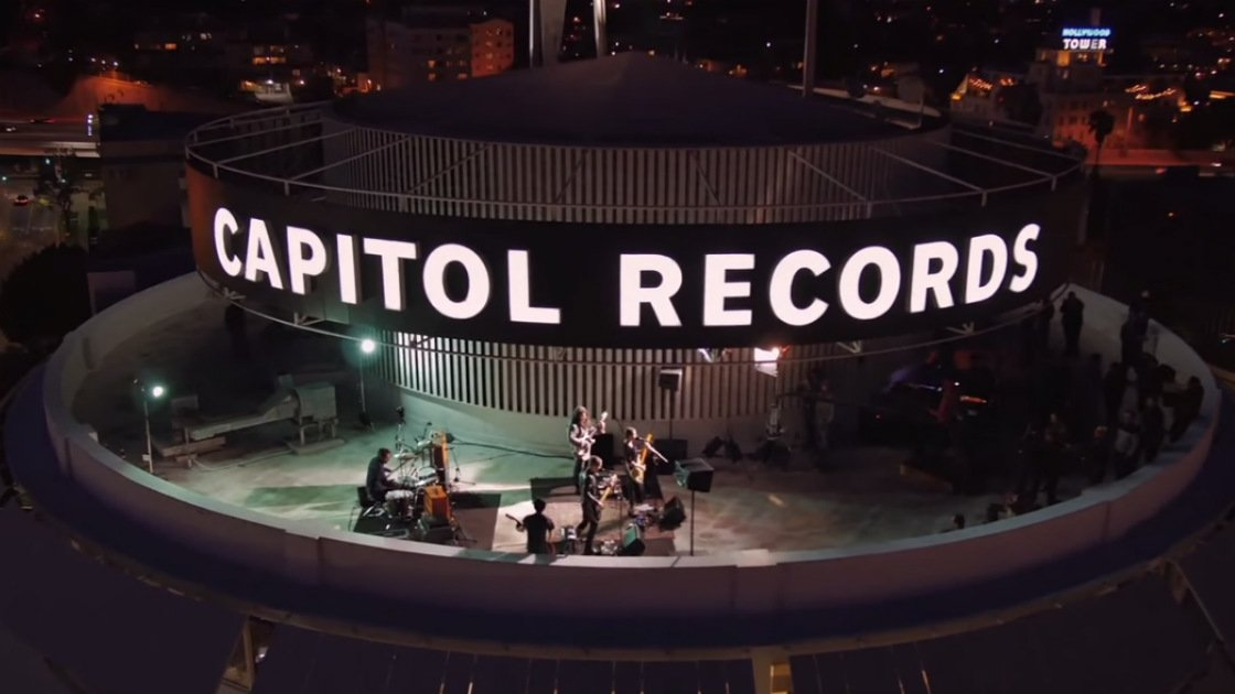"image for article ""California Nights"" & ""Feeling OK"" - Best Coast at Capitol Records Tower in Los Angeles, CA 2015 [YouTube Official Video]"