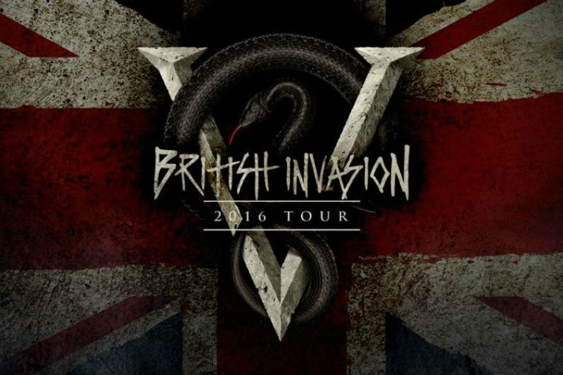 "image for article Bullet for My Valentine Set 2016 Tour Dates for North America with Asking Alexandria: ""British Invasion"" Ticket Presale Codes + Info"