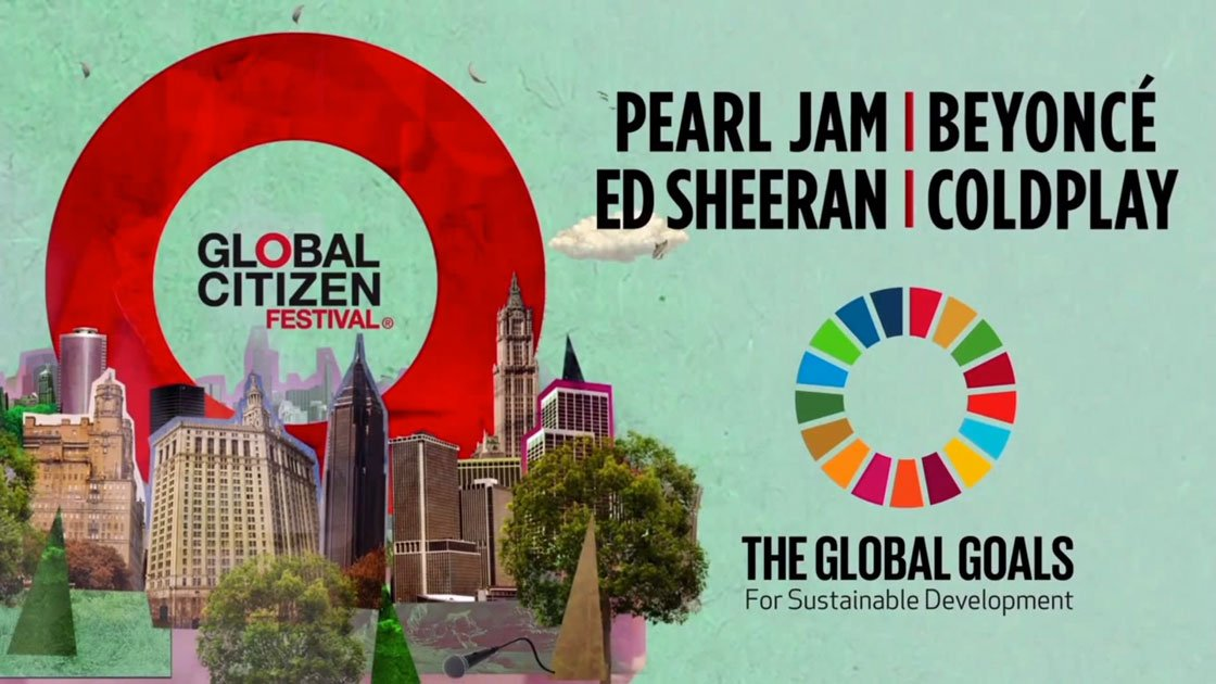 image for article Full Global Citizen Festival Web Stream: Watch Beyonce, Pearl Jam, Coldplay, and Ed Sheeran [YouTube Official Video]