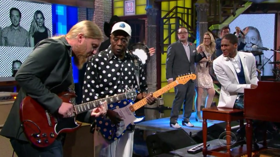 "image for article ""Everyday People"" - Jon Batiste and Stay Human with Special Guests on The Late Show with Stephen Colbert September 8, 2015 [Video]"