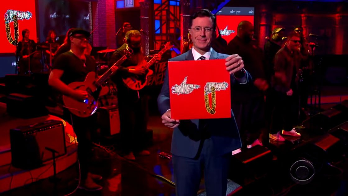 "image for article ""Angel Duster"" - Run The Jewels & TV On The Radio on The Late Show with Stephen Colbert Sep 15, 2015 [YouTube Official Video]"