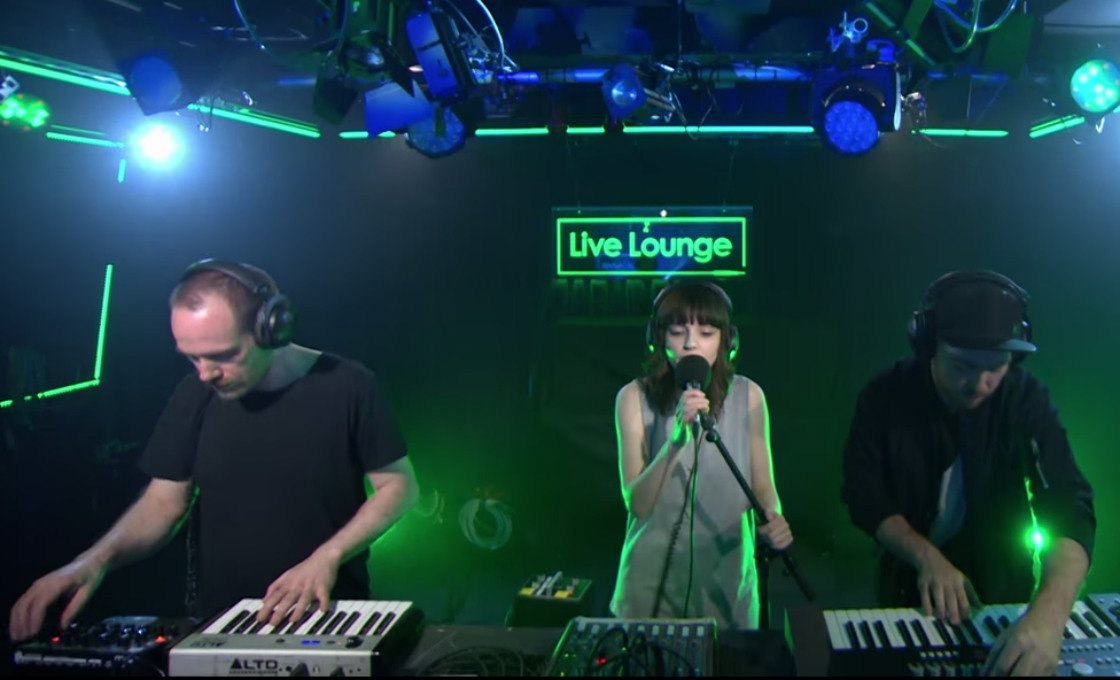 "image for article ""What Do You Mean"" - CHVRCHES on BBC Radio 1 Live Lounge (Justin Bieber Cover) [YouTube Official Video]"