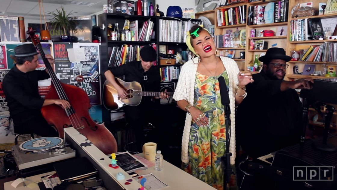 image for article Andra Day NPR Tiny Desk Concert Performance, 2015 [YouTube Official Video]