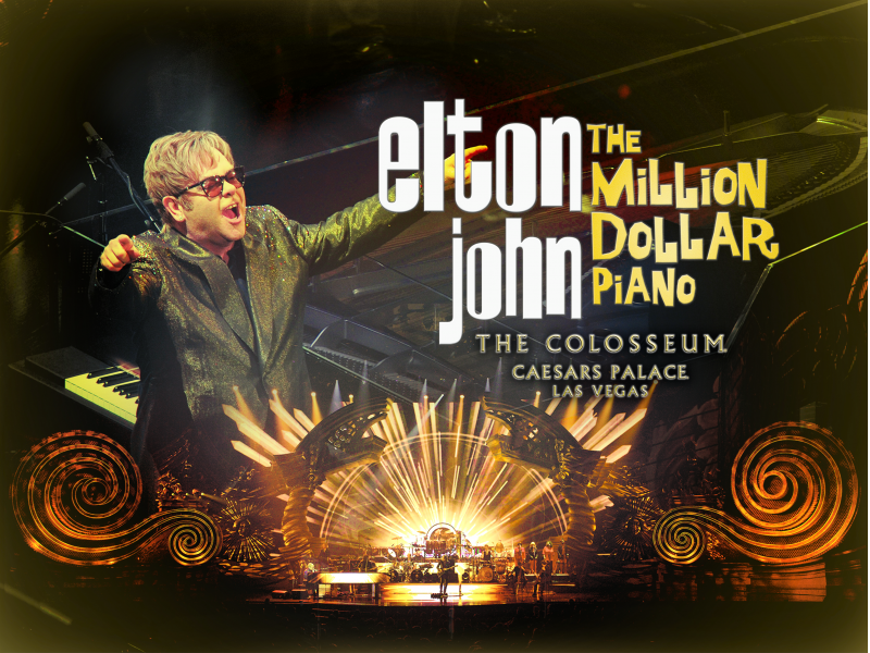 image for event Elton John and The Million Dollar Piano